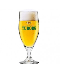 Tuborg Stilk Glas 75 cl.